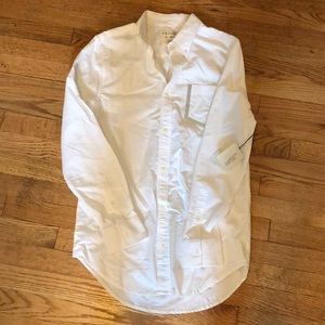 Longsleeve white causal button up